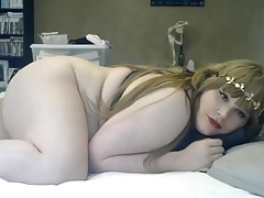 Ultra-cute chubby shemale 2