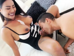 Stunning tranny and perv guy pounding each ass-holes