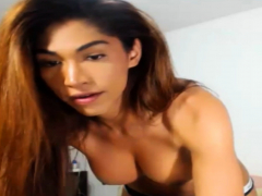 Busty Tranny doing Super-naughty Cock and Ass