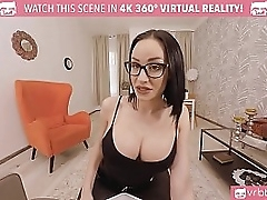 VRBTrans.com Hot busty tranny instructor bonk far her student