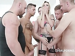 5on1 DAP & TP with Sophia Befit Drool Impenetrable depths Anal, Rough Sex, Facial GL062