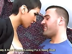 Jasmine Arabia Swallows A Big Cum Load