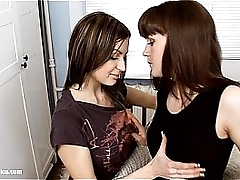 Going Offline by Tribadic Erotica - lesbian fancy porn with Orina - Anise