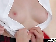 (Haley Thin as a rail & Bailey Brooke) Teen Horny Girls Respecting Hot Lesbo Sex Act movie-16