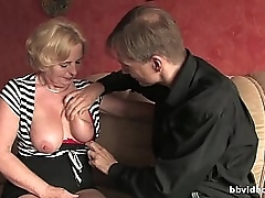 Bbvideo.com Mature German son takes a hard penis