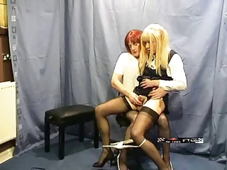 Candi milked apart from her teacher