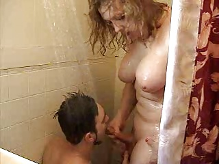 Guys Gets Bareback Fucked & Swallows Amateur Shemale Cum