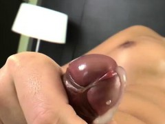 Jiggly Ladyboys inserted their ass and jism